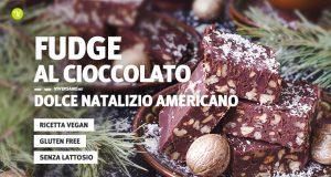 Ricetta della torta fudge al cioccolato e noci