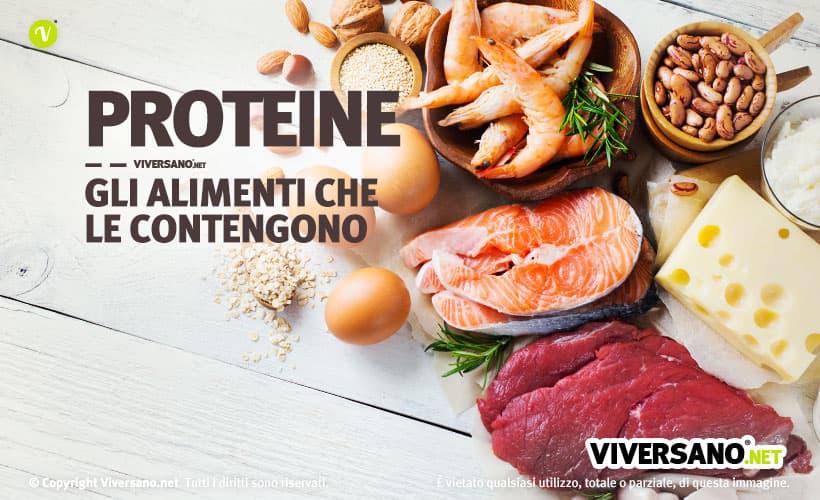 Copertina dell'articolo - Alimenti con buon contenuto di proteine