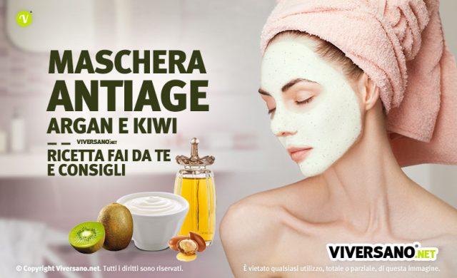 Maschera viso antiage ricetta faidate