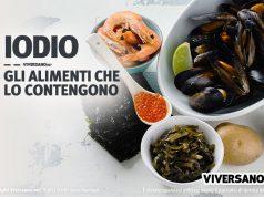 Immagine di alghe e frutti di mare, alimenti che contengono iodio