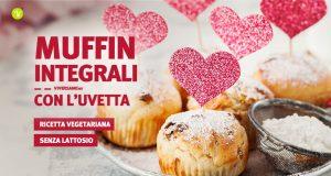 Ricetta dei muffin di san valentino