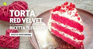 Fetta di red velvet, la torta americana