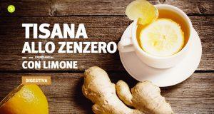 Ricetta della tisana zenzero e limone