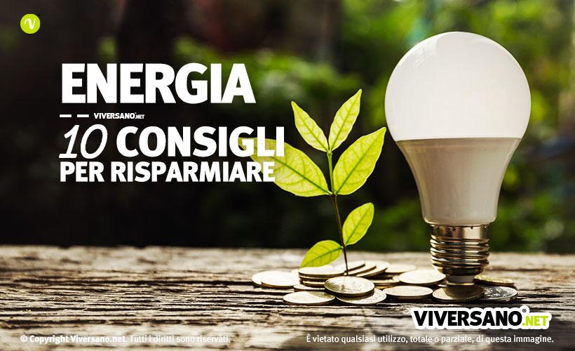 Copertina dell'articolo - 10 consigli per risparmiare energia in casa e ufficio