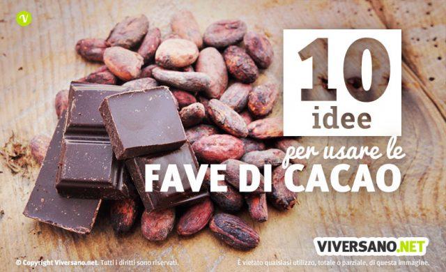 10 ricette fave di cacao in cucina