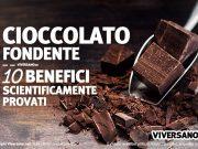 Cioccolato fondente e salute studi scientifici