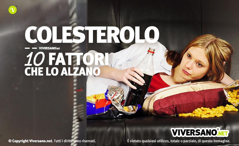 Immagine di copertina dell'articolo - Colesterolo 10 fattori che lo alzano