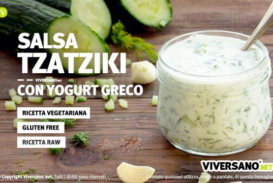 salsa greca tzatziki ricetta originale
