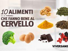 Immagine di copertina dell'articolo - 10 alimenti che fanno bene al cervello