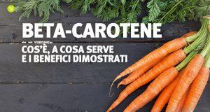 Immagine di carote, un alimento ricco di betacarotene