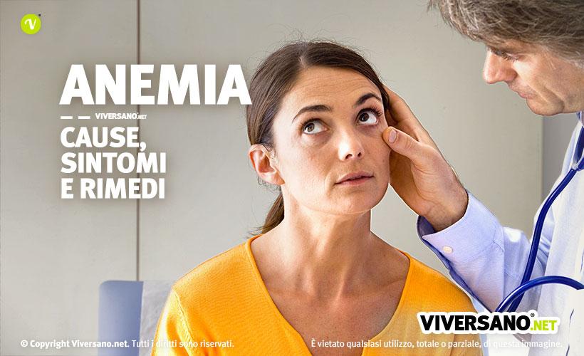 Anemia: controllo dal medico per verificare i sintomi