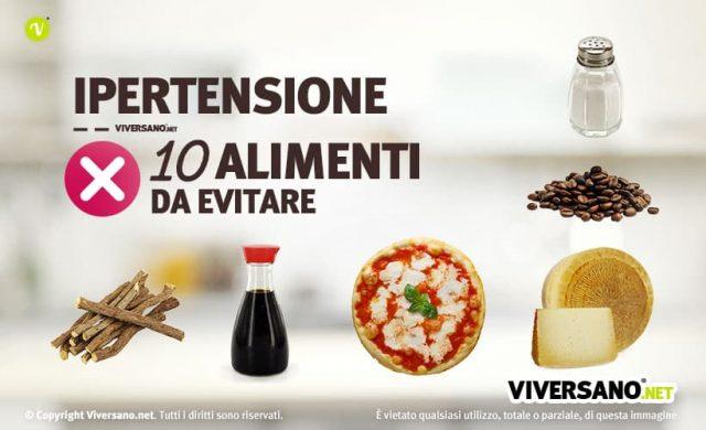 Copertina dell'articolo - 10 alimenti da evitare in caso di ipertensione