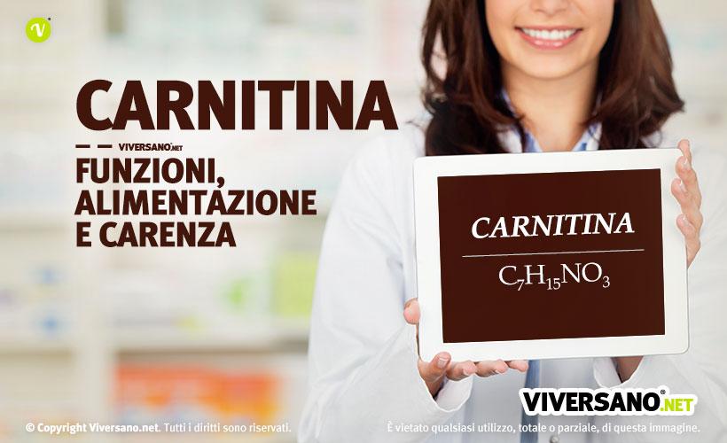 Immagine di copertina dell'articolo - Carnitina: funzioni, alimentazione e carenza