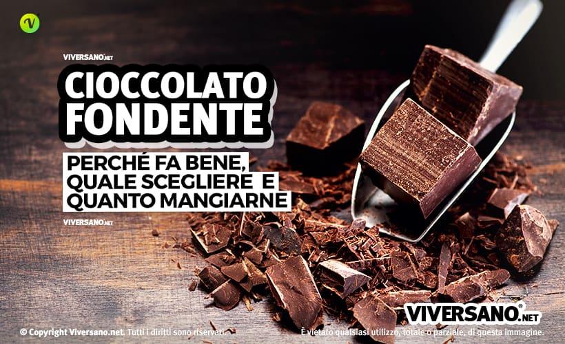 Tavolette di cioccolato fondente spezzate