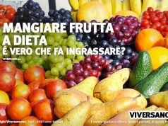 Cesto di frutta variegata