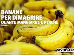 Le banane fanno ingrassare o dimagrire?