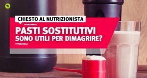 I pasti sostitutivi funzionano davvero per dimagrire?