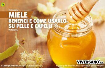 Miele fresco in un vasetto di vetro