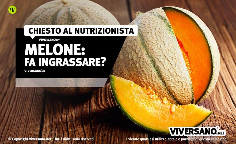 Il Melone Fa Ingrassare O Aiuta A Dimagrire Si Puo Mangiare A Dieta
