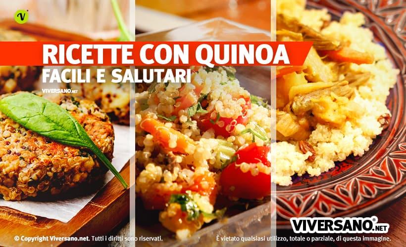 Ricette miste con quinoa
