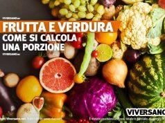 A quanto corrisponde una porzione di frutta e verdura