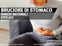 Tutti i rimedi naturali per il bruciore allo stomaco
