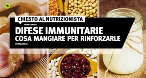 Alimenti che rinforzano le difese immunitarie
